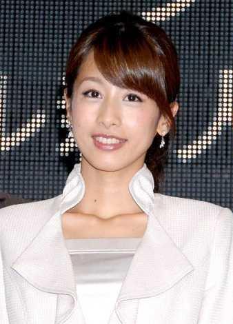 "NTV水卜麻美""最喜爱女性播音员""2连霸"